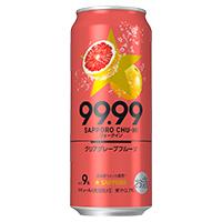 99.99 クリアグレープフルーツ 500ml ×24缶