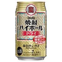 焼酎ハイボール <ドライ> 下町缶 350ml ×24缶